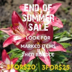 Summer sale items